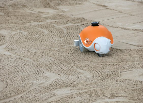Disney Creates Beach-Dwelling Robot That Draws Adorable Cartoons In Sand | Popular Science