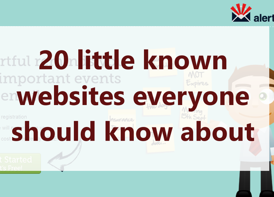 20 little known websites everyone should know about