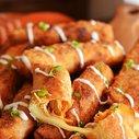 Buffalo Chicken Mozzarella Logs - Host The Toast