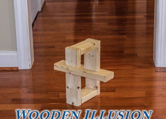 Wooden Illusion