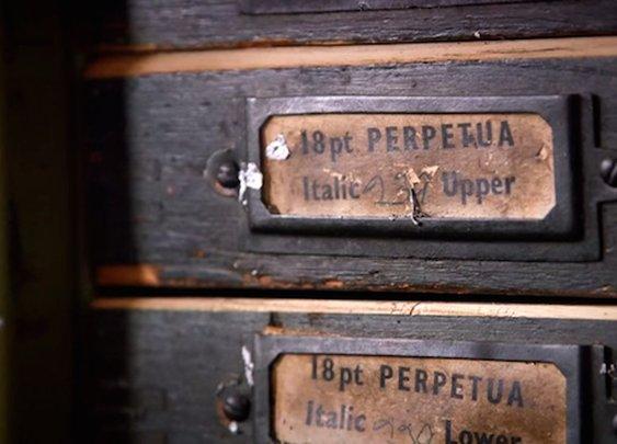 Beautiful short documentary on the art of letterpress