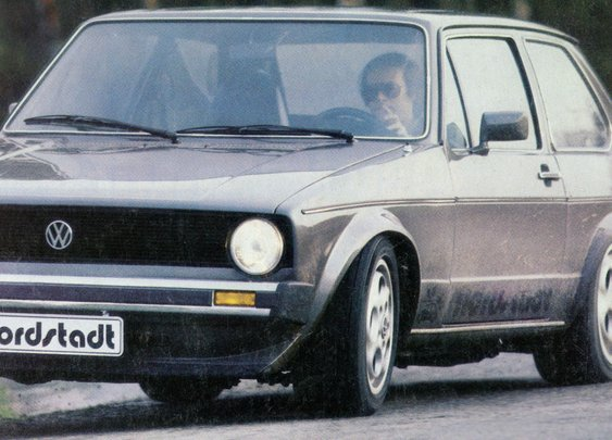 Meet the shark in rabbit's clothing: the Golf-bodied 928