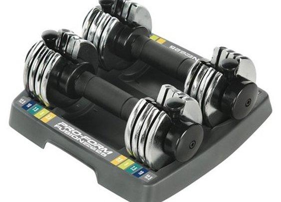 Reebok Adjustable Pair Weights - Black/Silver (2... : Target