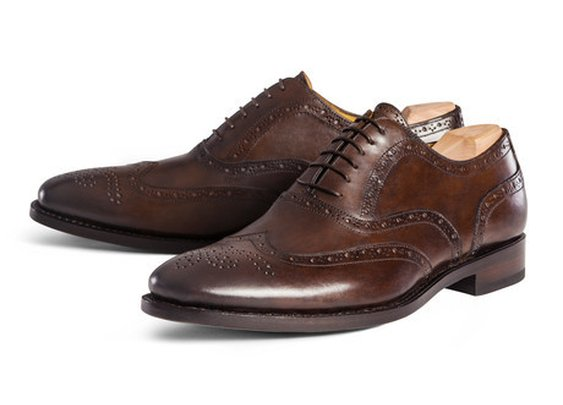 classic wingtip oxfords work with 90% of the suits in your wardrobe.
