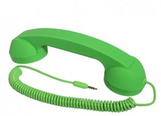 Retro Telephone Handset for iPhone