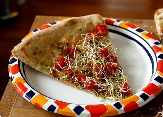 BLT Pizza - Rotio/Food