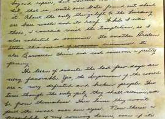 Letter penned by Jewish soldier on Hitler's stationery makes its way to historical museum