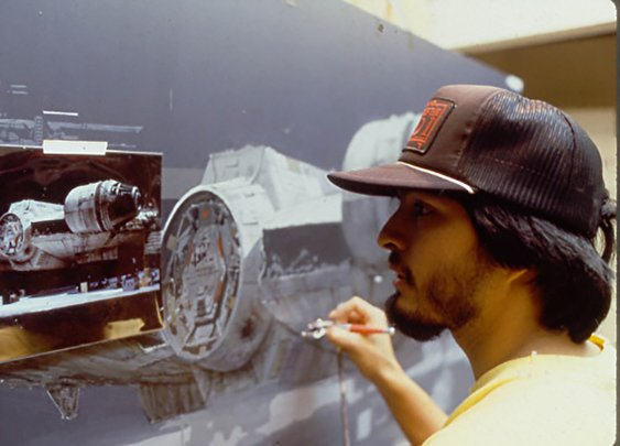 A Look at the Matte Painters Who Created the Lifelike Scenery for the 'Star Wars' and 'Indiana Jones' Films