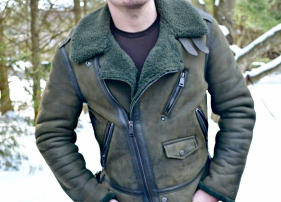 Shearling Bomber: A Winter Essential