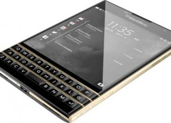 BlackBerry has announced the Passport Black & Gold, a limited edition consisting of just 50 devices