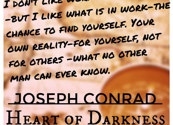 Wednesday's Words: Conrad