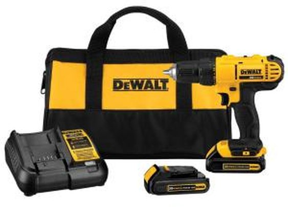 DEWALT 20-Volt Max Lithium-Ion Cordless Drill/Driver Kit-DCD771C2 - The Home Depot