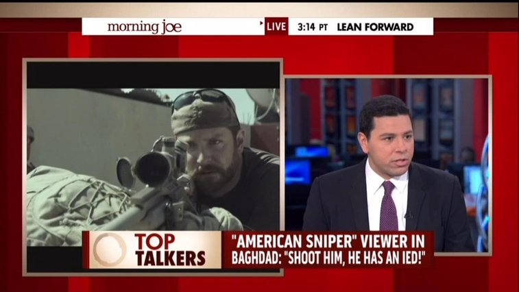 NBC's Mohyeldin Suggests Real American Sniper a 'Racist' Who Went on 'Killing Sprees'