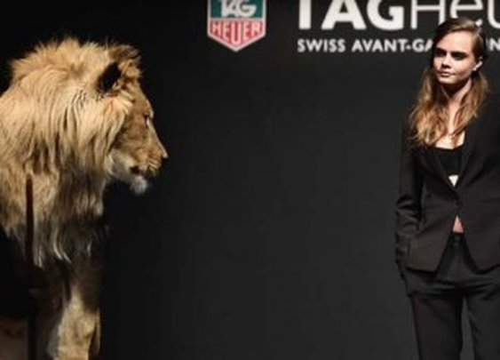 Cara Delevingne is the new face of Tag Heuer