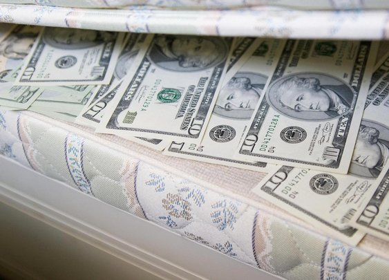 Under a mattress, in the freezer: Why so many are hiding cash