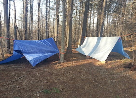 Tarp Shelters For Family Camping Trips