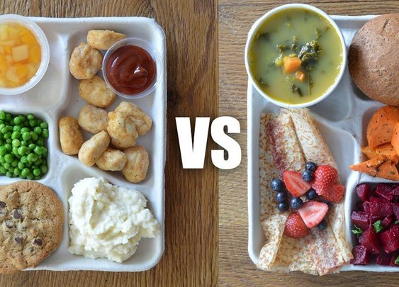 These School Lunches From Around The World Should Embarrass The U.S.