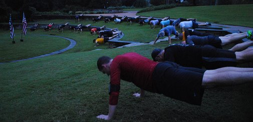 F3 is Fitness, Fellowship and Faith