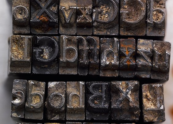 Creative Review - Recovering the Doves Type