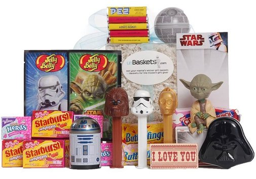 The I Love You More Than Star Wars unBasket - Whimsical & Unique Gift Ideas for the Coolest Gift Givers