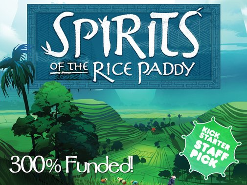 Spirits of the Rice Paddy Board Game by APE Gamer — Kickstarter