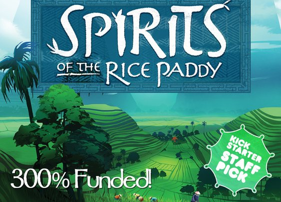Spirits of the Rice Paddy Board Game by APE Gamer — Kickstarter