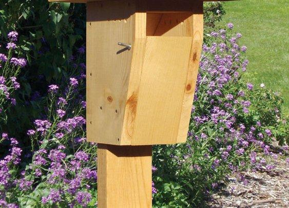 Creating a Bird Sanctuary: DIY Bluebird House - Animals - GRIT Magazine