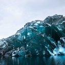Photos Of A Flipped Iceberg In Antarctica