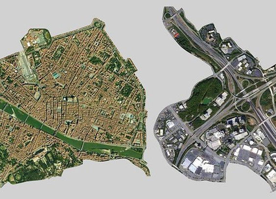 The whole city of Florence can fit in one Atlanta cloverleaf : TreeHugger