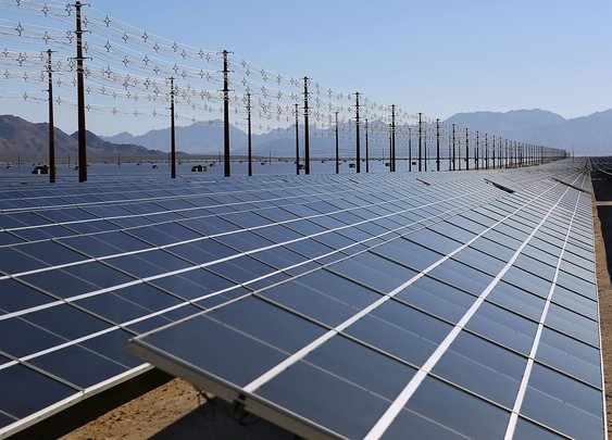 World's largest solar plant opens in California desert