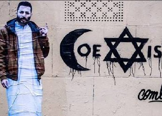"""""""Coexist"""" Artist's Brutal Beating By Local Muslims"""