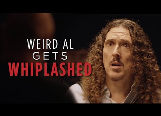 Weird Al Gets Whiplashed - YouTube