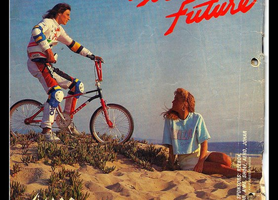 Visage BMX vintage ad