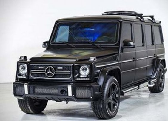 $1 million armored and stretched Mercedes-Benz G63 AMG by Inkas