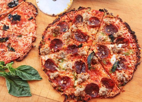 Use Your Cast Iron Pan and a Tortilla to Make World Class Bar-Style Pizza in Under 12 Minutes | Serious Eats