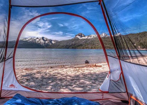 And THIS is why camping is awesome!