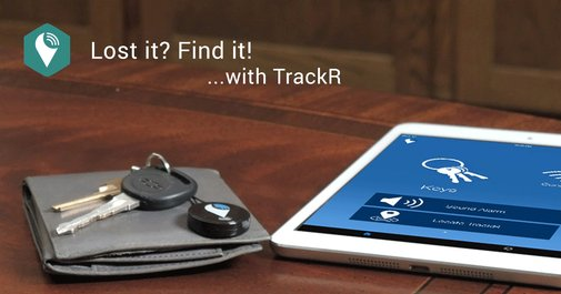 Track anything else with TrackR!
