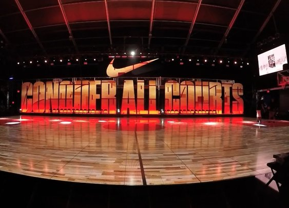 Nike Zoom City Arena LED Basketball Court