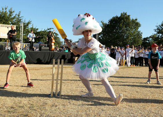 Scenes from the Cricket World Cup 2015 opening ceremonies