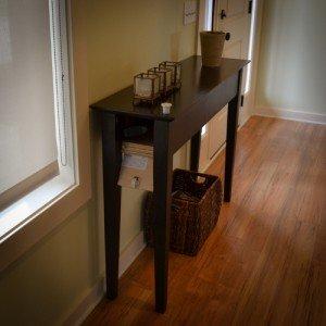 Hidden Long Gun Storage in Entry Table | StashVault