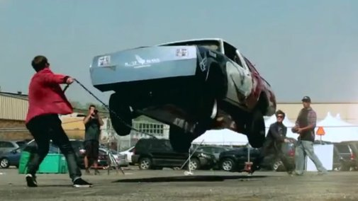 A Look at the Science Behind a Modified Car Capable of Jumping 12 Feet in the Air and Skipping Rope