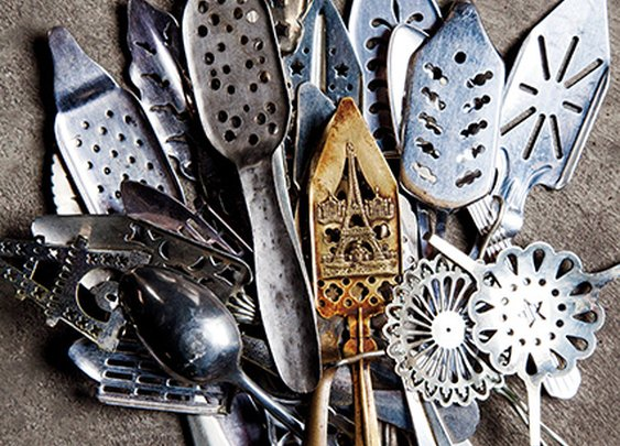 For one collector, absinthe spoons are more than just decorative barware | Garden and Gun