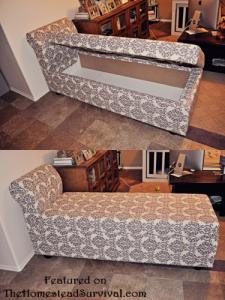 Chaise Lounger with Hidden Storage | StashVault