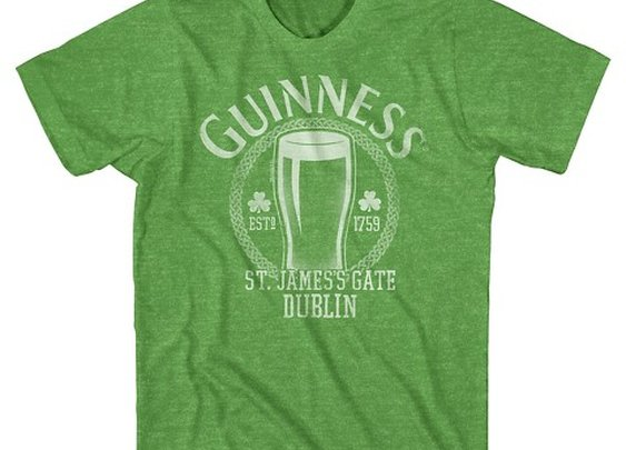 Men's Guinness St. Patrick's Day T-Shirt - Green : Target