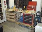 Garage work bench « Aaron K