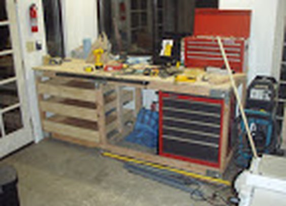 Garage work bench « Aaron K