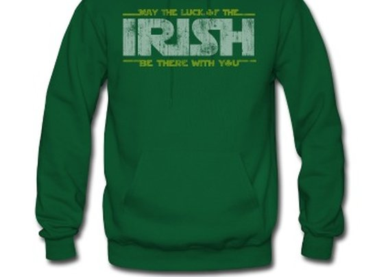 St Patrick's Day May the Luck of the Irish Hoodie | Spreadshirt | ID: 14710729