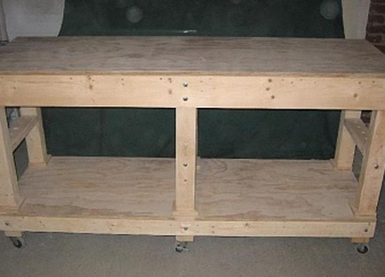 Garage Work Bench - Building & Construction - DIY Chatroom Home Improvement Forum