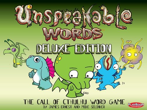 Unspeakable Words Deluxe Edition by Playroom Entertainment — Kickstarter