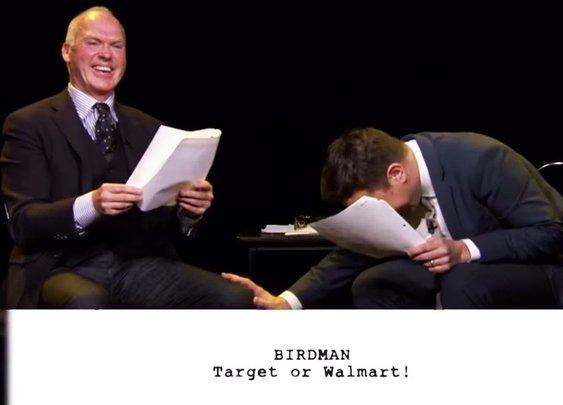 Michael Keaton And Jimmy Fallon Read Children's Scripts For 'Birdman'   SF Globe